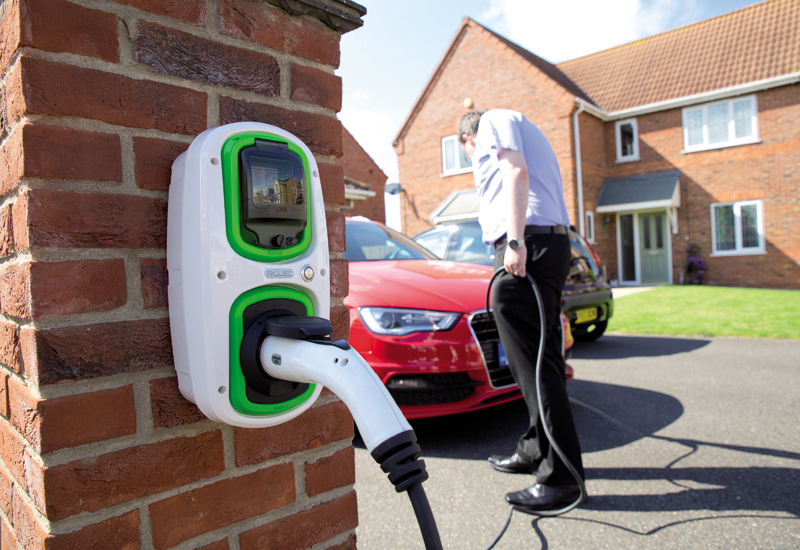 EV charging electric car